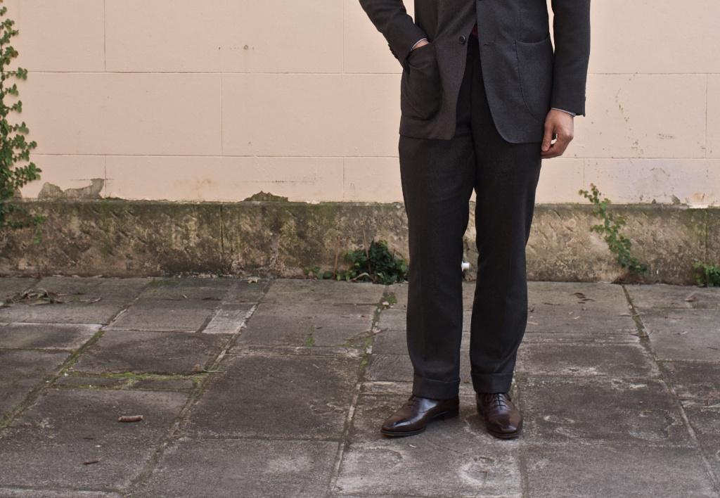 Манжеты на брюках. Классические брюки с манжетами. Прямые 55